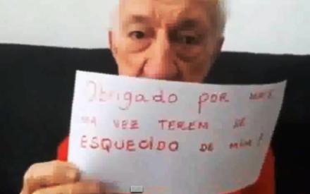 ABANDONO: Ex-assistente de palco, Russo grava novo vídeo para criticar a Rede Globo