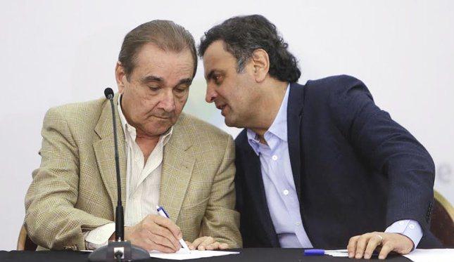 PT quer convocar Aécio Neves e Agripino para depor na CPI da Petrobras