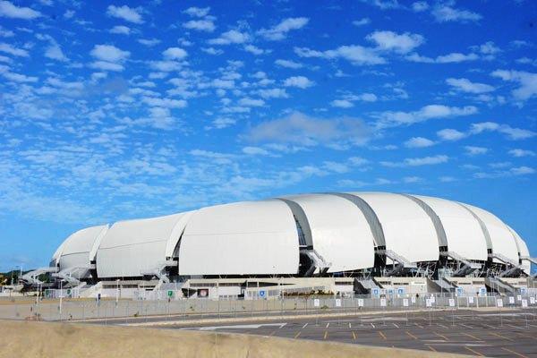Arena das Dunas teve o maior lucro entre estádios da Copa