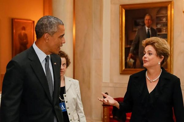 Dilma fazer pronunciamento sobre o fim do desmatamento ilegal durante encontro com Obama.