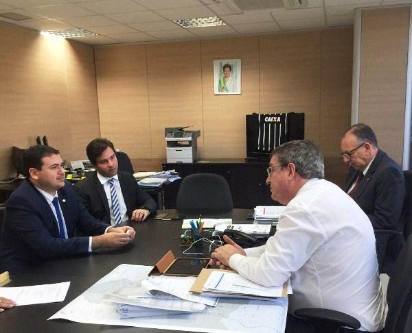 Ministro da Integração libera R$ 8 milhões para Barragem de Oiticica e Adutoras de Currais Novos e Alto Oeste