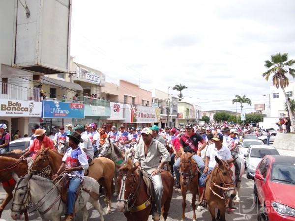 Cavalgada de Sant'Ana acontecerá na sexta-feira (10), a tarde