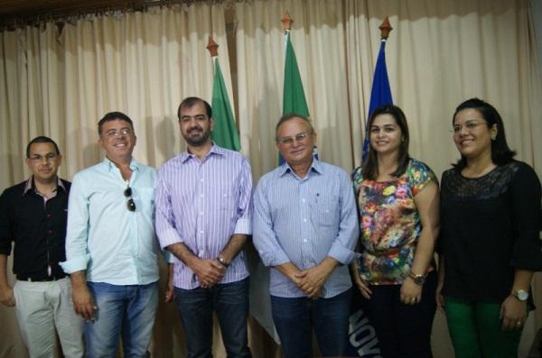 CURRAIS NOVOS: Prefeitura empossou quatro novos secretários municipais nesta terça-feira, 02