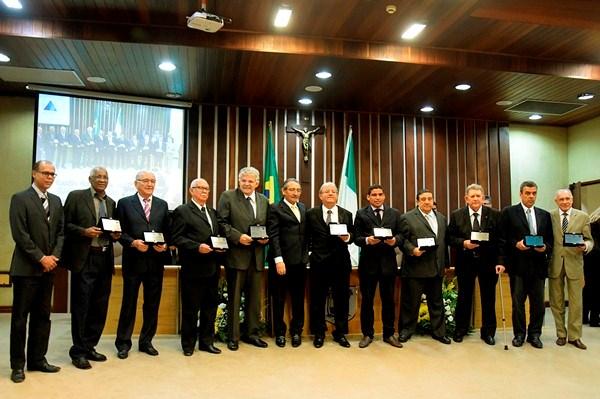 Sessão solene marca o centenário do ABC na Assembleia Legislativa