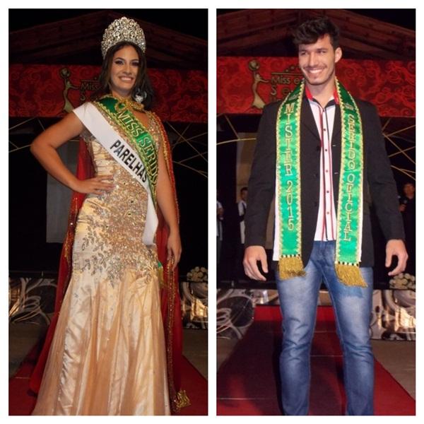 Representantes de Parelhas e Currais Novos foram eleitos Miss e Mister Seridó Universo 2015