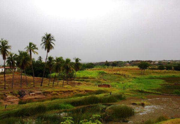 Chuvas de até 105 mm na tarde deste sábado no Seridó