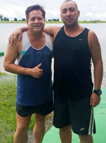 Leonardo e Marquinhos (Foto: Reprodução/Facebook).
