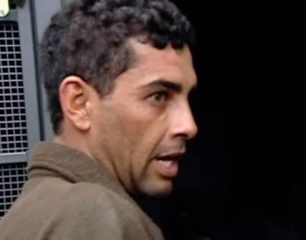 O homem foi preso e a vítima internada (Foto: R7)