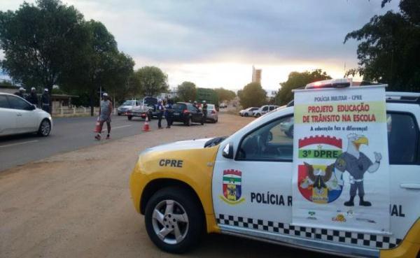 CPRE promove campanha em Caicó e aborda 111 motociclistas em Natal e Parnamirim