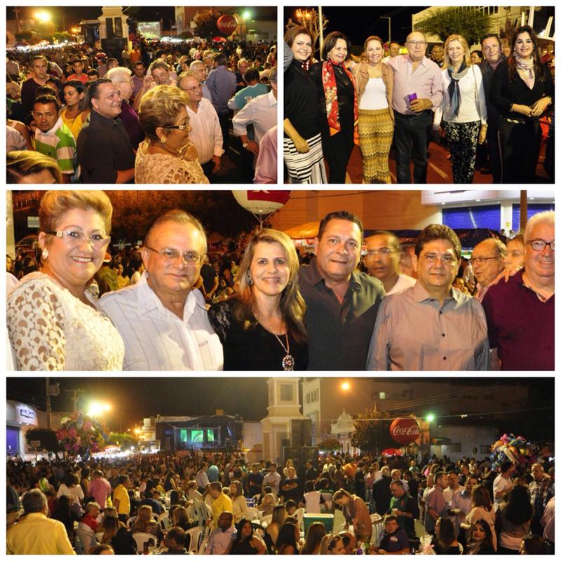 Ezequiel Ferreira participa dos festejos de Sant'Ana em Currais Novos