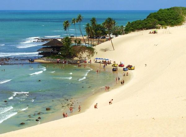O teleférico vai permitir ao turista visualizar as dunas do alto, sem interferir na paisagem nem agredir o meio ambiente(Foto: Divulgação).