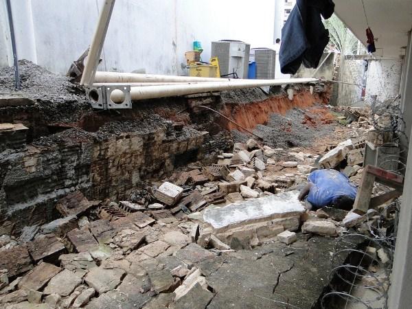Muro desaba e mata operário de obra em Natal