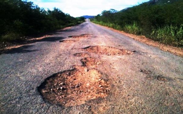 Trecho da RN-118 que liga Jucurutu a Caicó será recuperado a partir deta segunda-feira