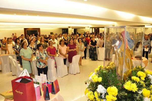 Festa de Sant'Ana foi lançada em Natal durante chá beneficente na Igreja de Santa Terezinha