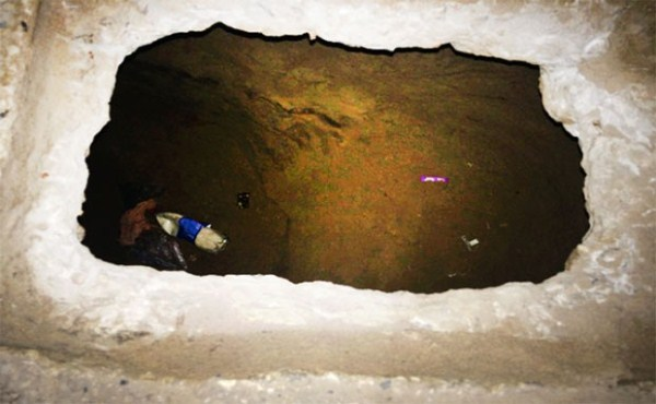 Agentes encontram túnel na Penitenciária Estadual de Parnamirim