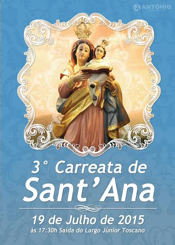 """3° Edição da tradicional """"Carreata de Sant'Ana""""."""
