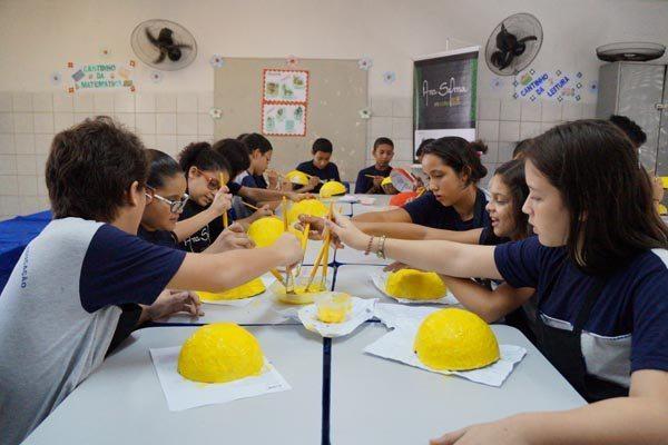 Projeto leva arte ecológica para escolas da rede pública