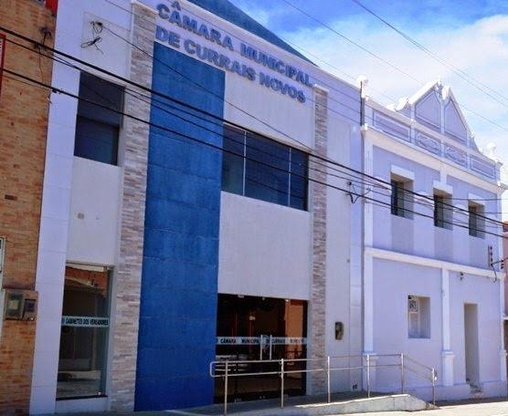 Resultado de imagem para foto camara municipal de currais novos rn
