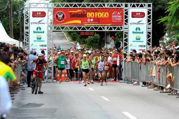 Corrida Soldados do Fogo sorteará passagens, hospedagens e inscrições para São Silvestre
