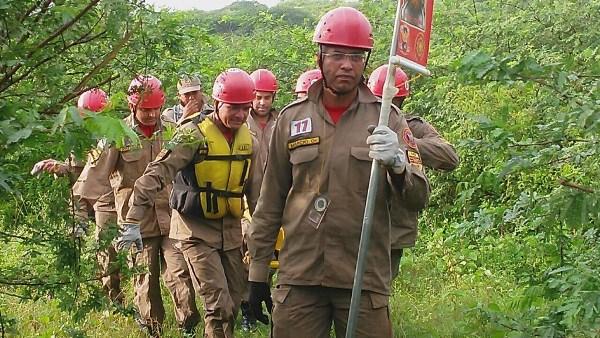 Bombeiros do RN praticam atividades operacionais em acampamento