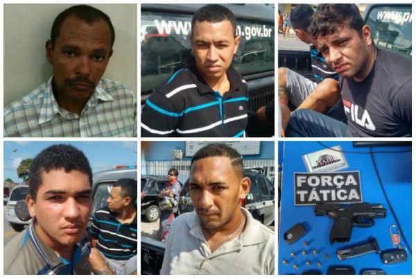Polícia Militar prende acusados de assaltos em Natal