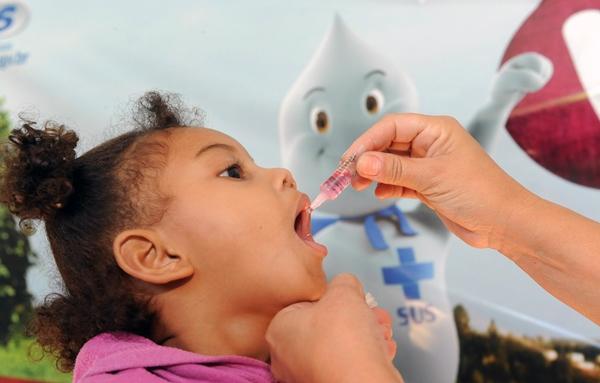 Campanha contra poliomielite encerra dia 31 e cobertura no RN atinge 50,77%