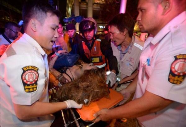 Bomba explode e deixa mortos no Centro de Bangcoc, na Tailândia