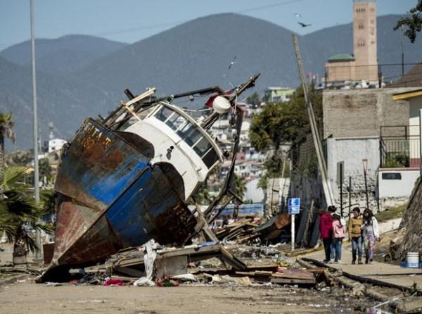 Número de mortos em terremoto no Chile chega a 12