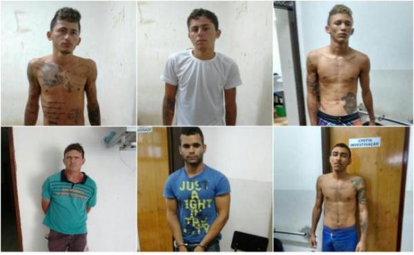Operação Grifos prende sete pessoas e apreende dois menores