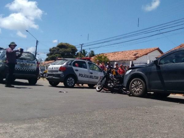 Vítima de assalto reage, atropela e mata suspeito na Zona Leste de Natal