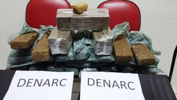 Polícia Civil prende dois suspeitos por tráfico de drogas