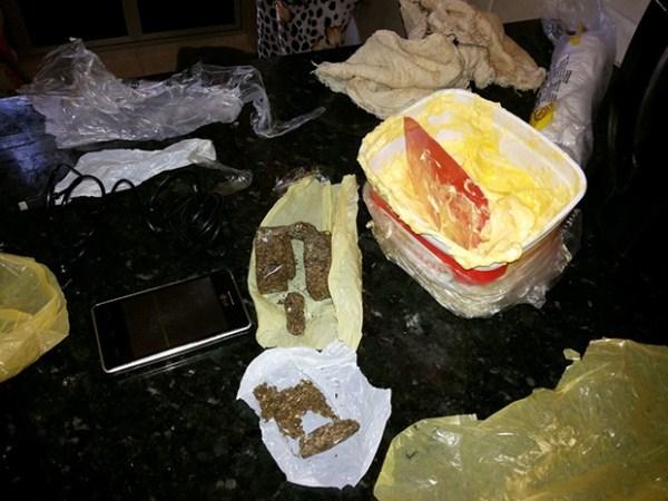 Mulher é presa ao entrar em CDP com droga dentro de pote de manteiga