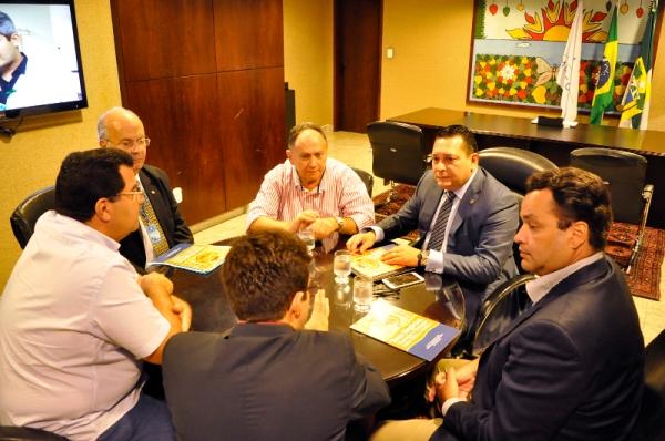 Presidente da Assembleia recebe diretoria da Associação Norte-Riograndense de Criadores