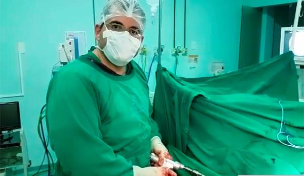 Em Patos, Médico interrompe cirurgia e grava vídeo denunciando descaso no Hospital