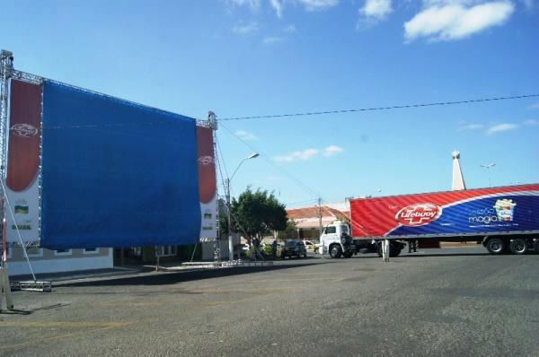 Maior projeto de cinema itinerante do país tem início hoje em Currais Novos com duas sessões