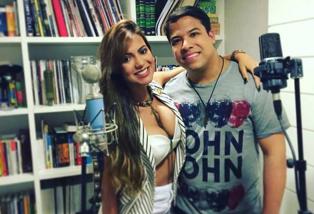 Cantora da Cheiro de Amor grava música com Giullian Monte no novo trabalho do DDB