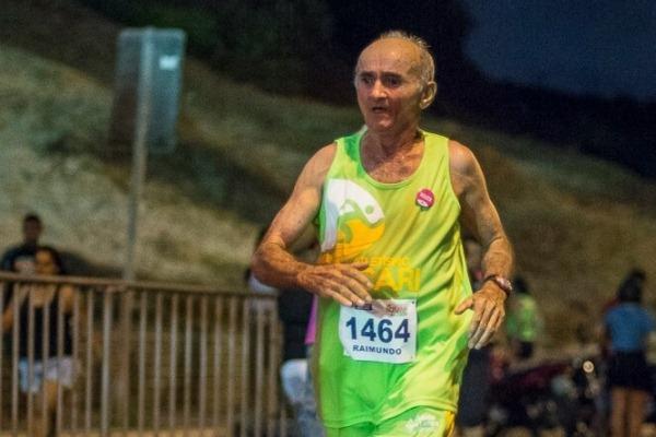 Acariense de 64 anos é vice-campeão em sua categoria na Corrida Noturna do Sesi em Natal