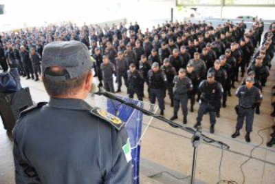 Policiais farão segurança em todo o estado (Foto: Alberto Leandro)