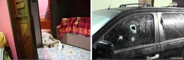 Chuva de bala em madrugada de terror e morte em Guamaré