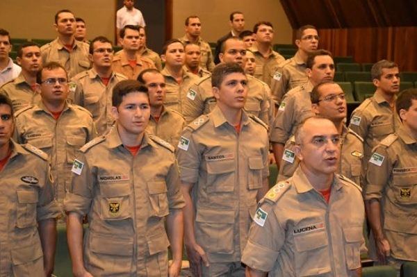 Governo do Estado promove mais 24 bombeiros militares