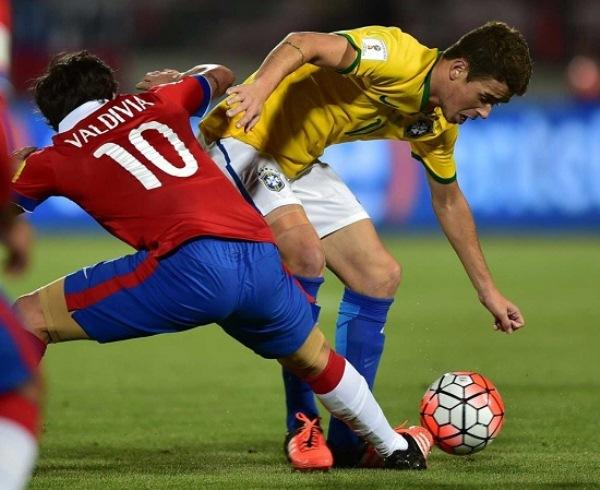 Eliminatórias: Brasil estreia com derrota contra o Chile por 2 a 0