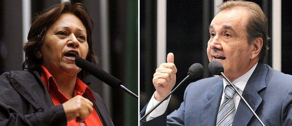 """COM CAUTELA: Fátima diz que """"não pagará na mesma moeda"""" como sempre fez Agripino"""