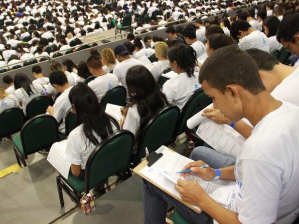 Ao todo, 180.746 candidatos estão inscritos para fazer o Enem no estado  (Foto: Sérgio Rodrigues/ G1)