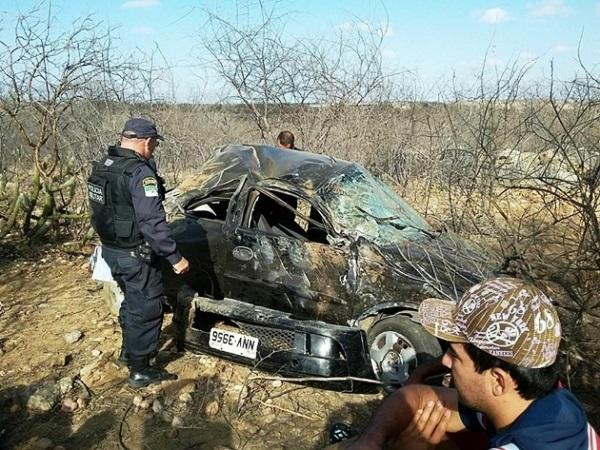 Grave acidente entre as cidades de Parelhas e Carnaúba dos Dantas