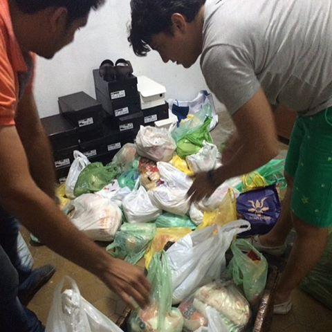 Alimentos arrecadados no Pulsação Prime serão doados nesta segunda-feira (23)