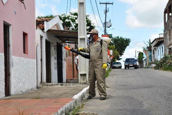 Número de casos de dengue no RN caiu.