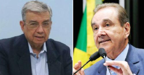 Os senadores potiguares José Agripino Maia (DEM) e Garibaldi Filho (PMDB) votaram pela manutenção da prisão do petista.