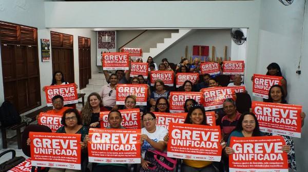 Servidores da saúde de Natal entram na greve unificada