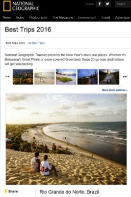 Rio Grande do Norte é destaque em revista internacional