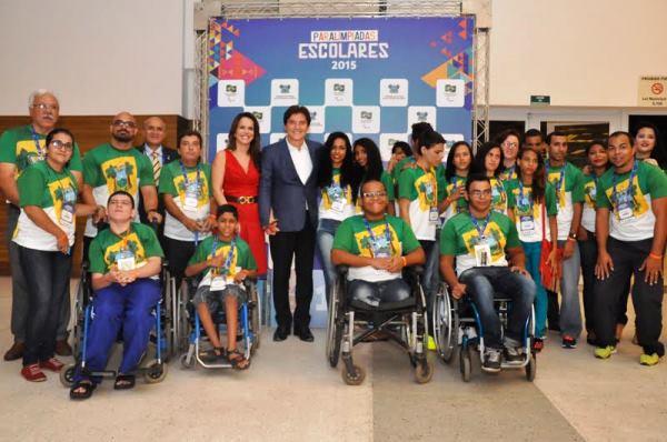 1º VEZ NO RN: Paralimpíadas Escolares são abertas em Natal